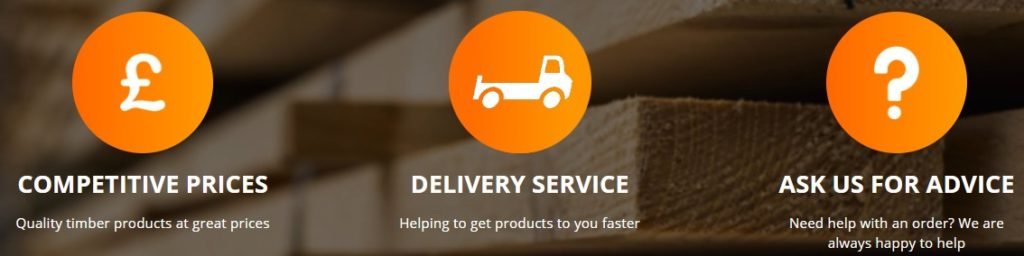 What do we offer at Wintech Timber. Competitive prices on quality timber products. Delivery service on products to get them to you quickly. Offering advice on orders and our timber products.