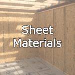 sheet materials and osb